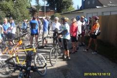 Fahrradtour, Konditionstraining 2010
